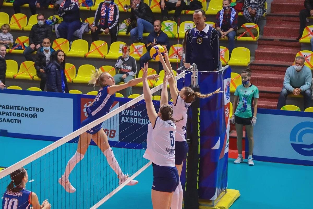 Нижегородская «Спарта» вышла в полуфинальный раунд Кубка России по волейболу
