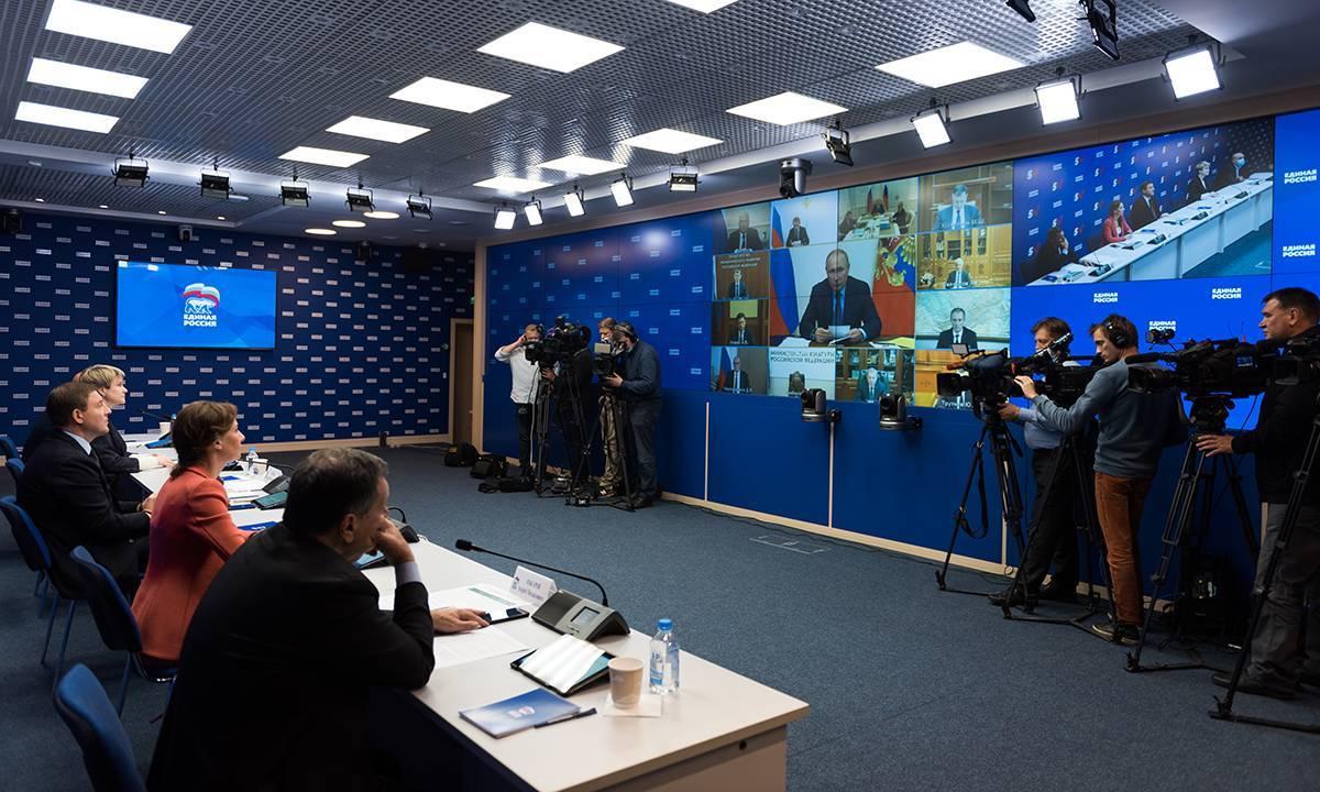 Владимир Путин: «Многие решения по развитию страны и укреплению социальной сферы были инициированы «Единой Россией»