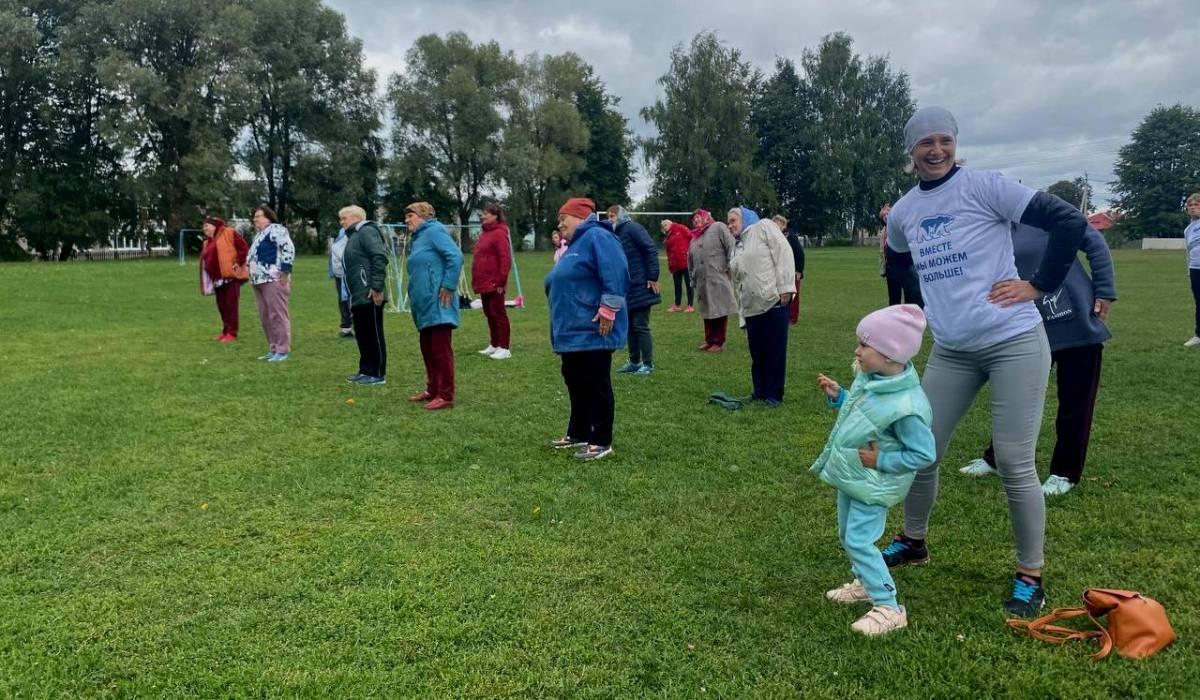 Более 150 человек приняли участие в открытых тренировках в Павлове и Ваче