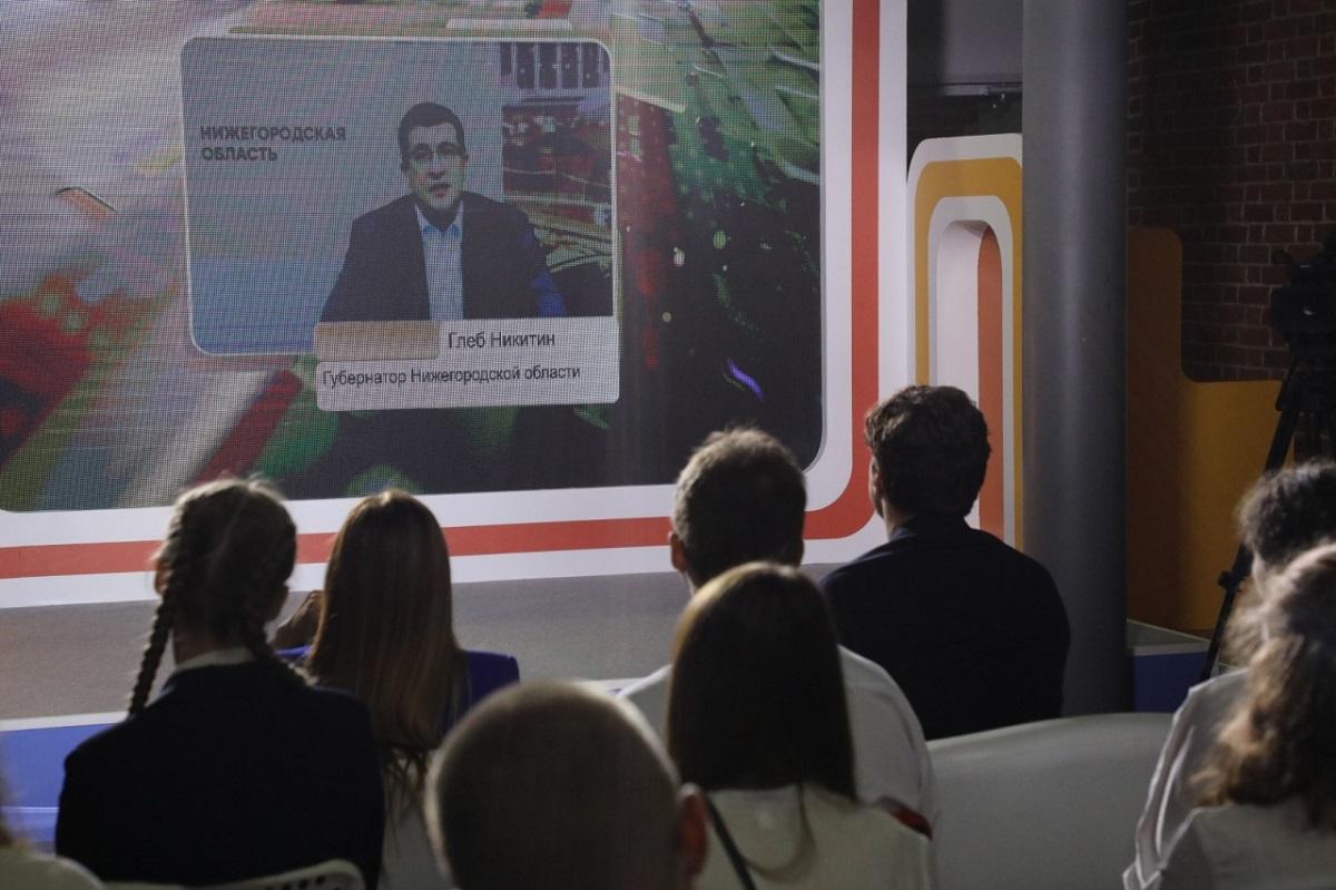 Глеб Никитин рассказал школьникам, какую роль Нижний Новгород сыграл в истории страны