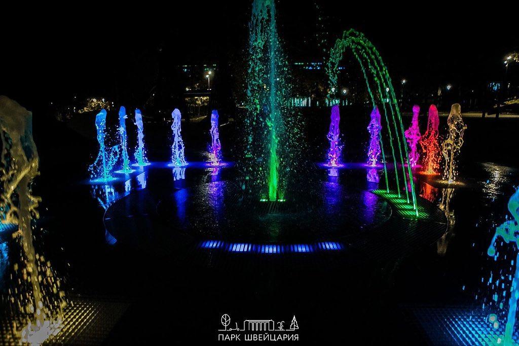 Сезон фонтанов завершился в нижегородском парке «Швейцария»