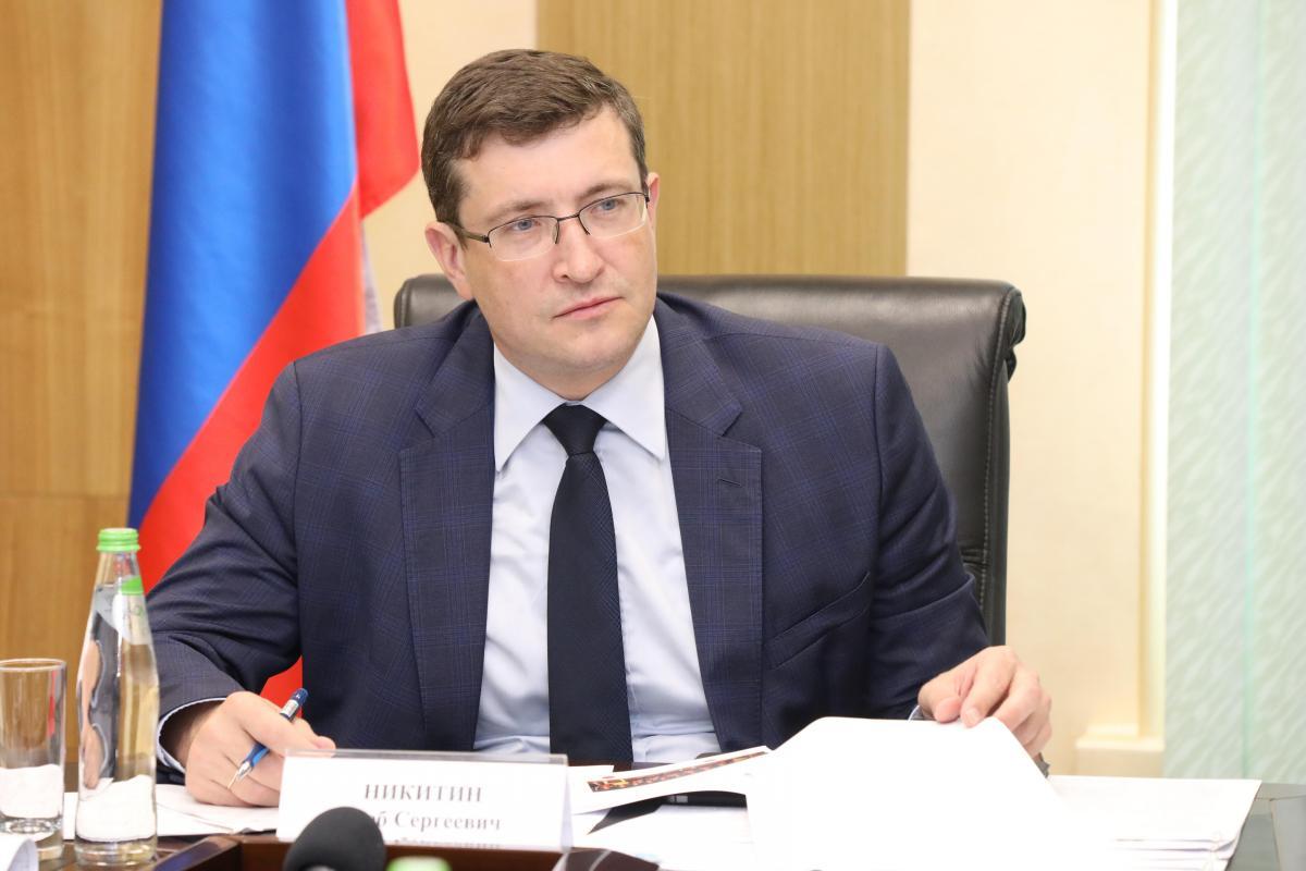 Глеб Никитин поручил усилить контроль за соблюдением противоэпидемических мер в регионе
