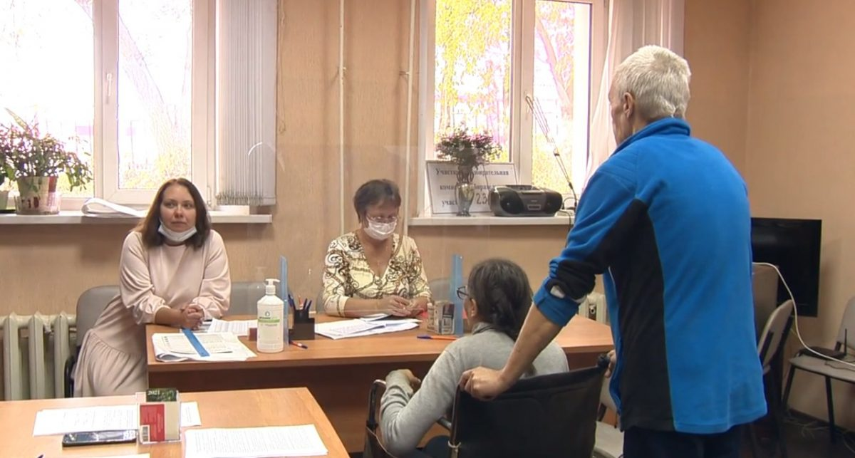 В Нижнем Новгороде организовано голосование для людей без регистрации по месту жительства