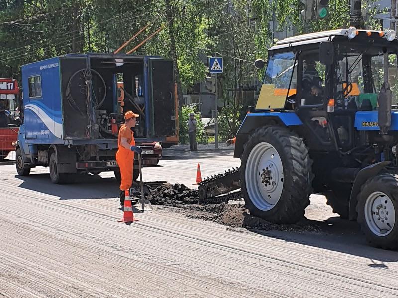 Производственная база на улице Новикова-Прибоя будет передана городу для размещения дорожной техники