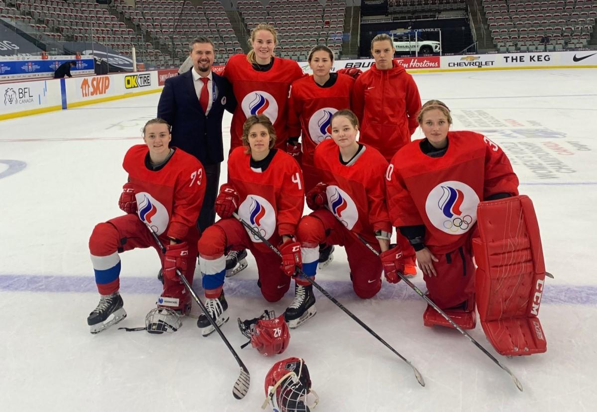Женская сборная России по хоккею сохранила прописку в классе сильнейших