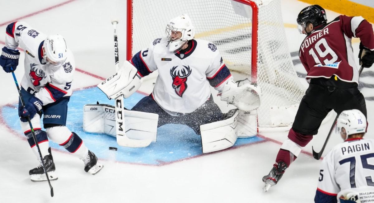 Хоккеисты нижегородского «Торпедо» проиграли в Риге