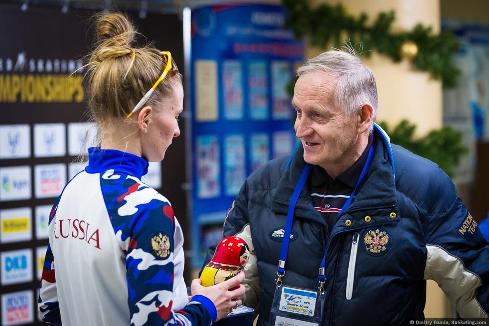 Мгновения счастья Владимира Акилова: наставнику нижегородских конькобежцев исполняется 80 лет
