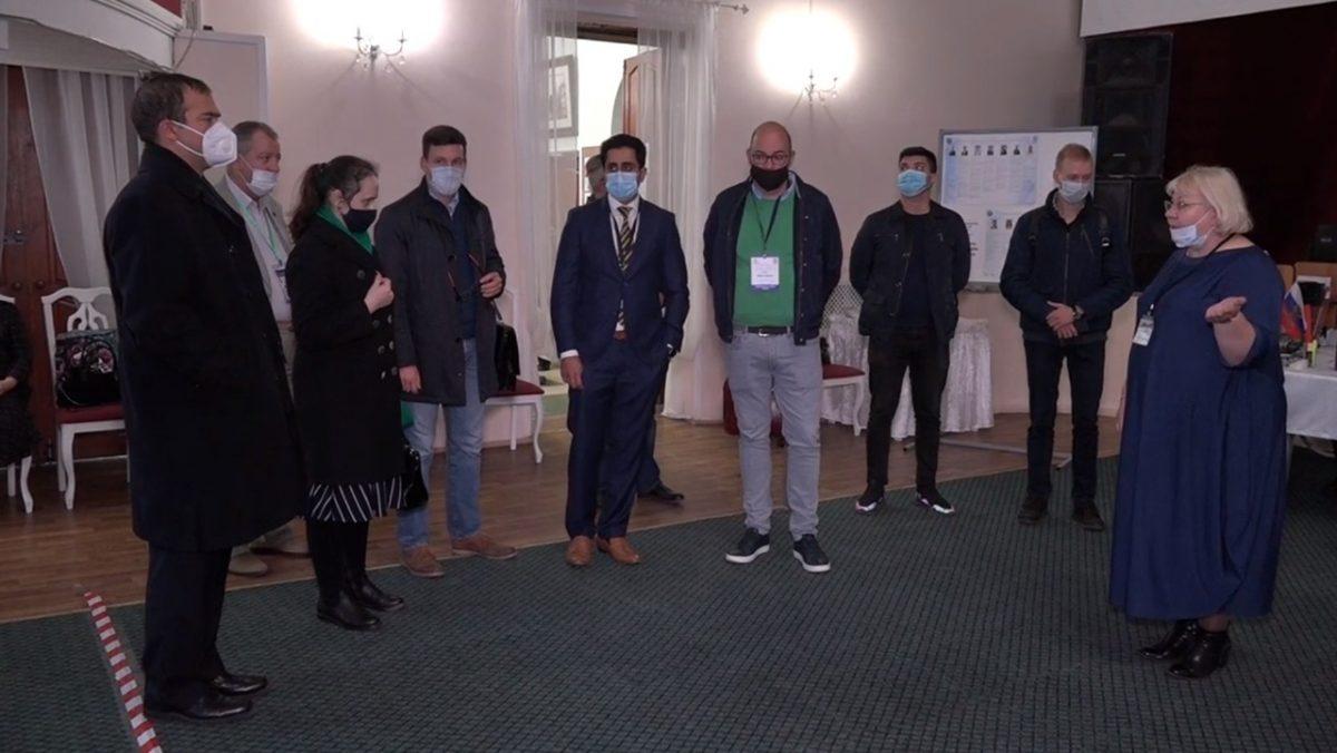 Иностранные эксперты ознакомились с работой избирательных участков в Городце