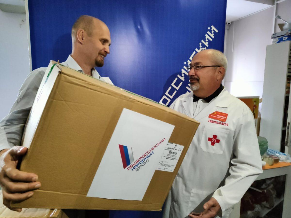 10 тысяч масок передали активисты нижегородским медикам, помогающим ковидным больным