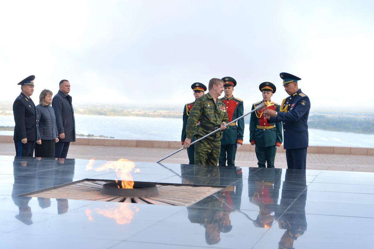 Мемориал памяти павших воинов открылся после реконструкции в поселке Бутурлино
