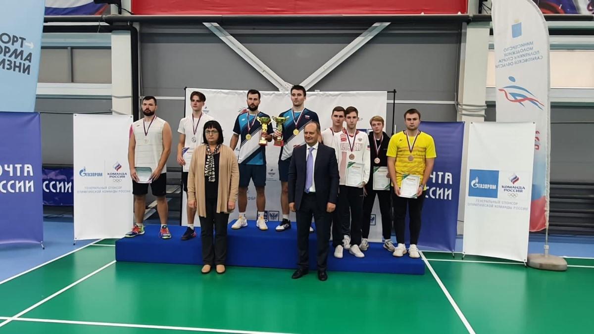 «Золото» и три «бронзы» завоевали нижегородские спортсмены на чемпионате России по бадминтону