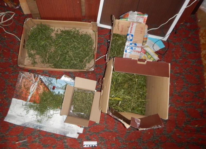 У безработного из Лысковского района обнаружили наркотики