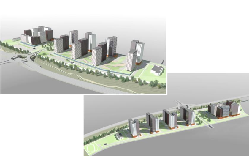 Жилой комплекс с двумя детсадами по 200 мест построят в Советском районе