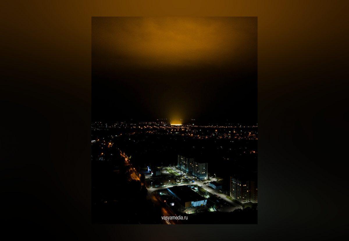 Фото дня: Нижегородцы вновь увидели «Око Саурона» над Бором