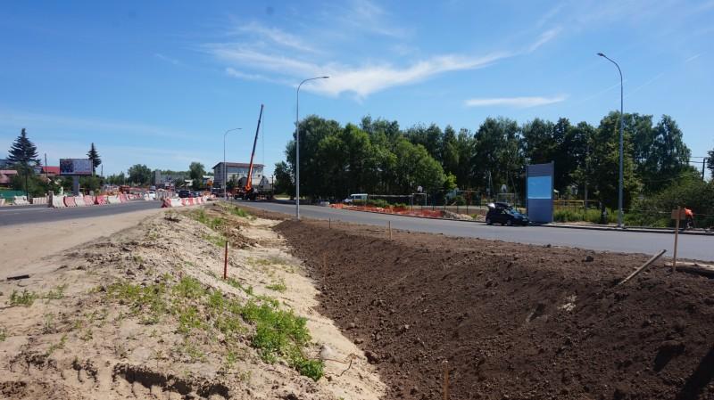 В областную собственность передается земельный участок под автодорогой в Ольгино