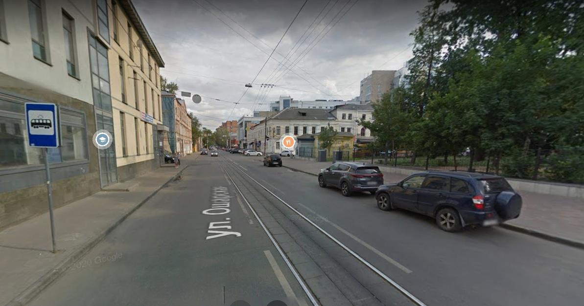 Одностороннее движение появится на улице Ошарской с 30 сентября