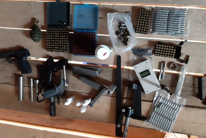 Полицейские накрыли кустарное производство оружия в Нижегородской области