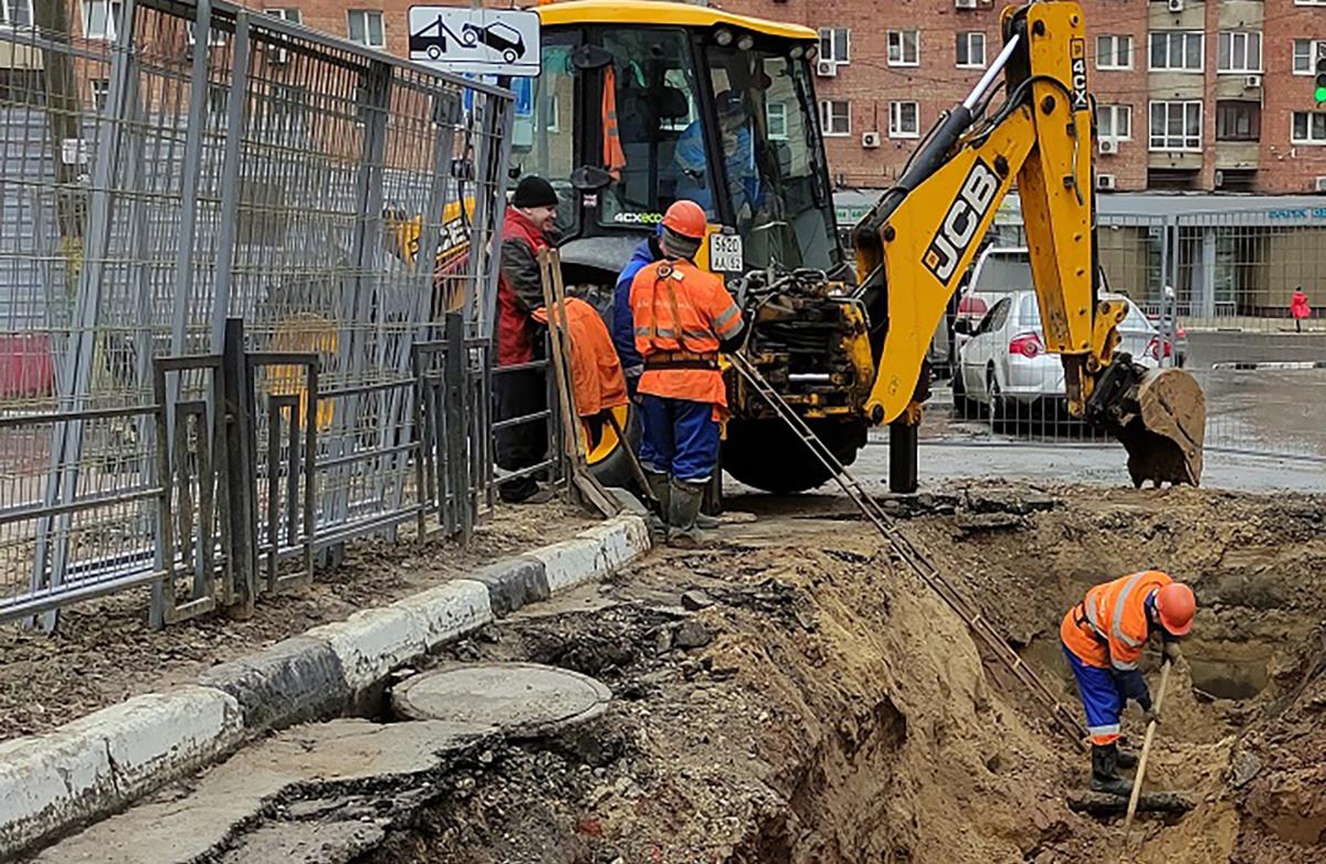 Нижегородский водоканал завершил капитальный ремонт магистрального трубопровода на улице Черниговской