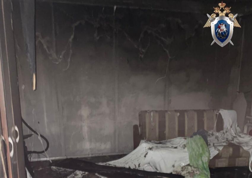 Следователи выясняют причины гибели мужчины на пожаре в Канавинском районе в Нижнем Новгороде