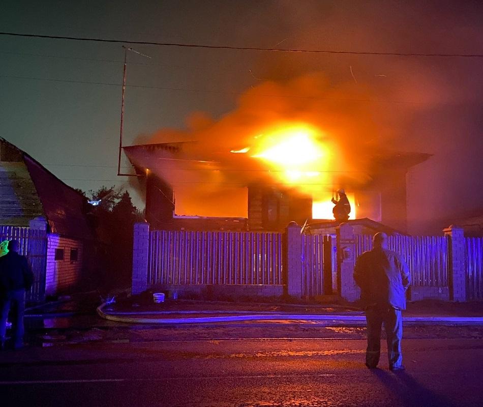 Частный дом сгорел под Дзержинском из-за некачественного электрооборудования