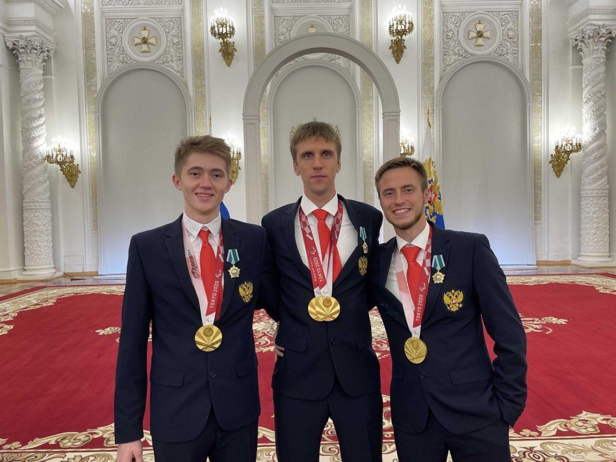 Владимир Путин вручил государственные награды Российской Федерации победителям XVI Паралимпийских летних игр в Токио