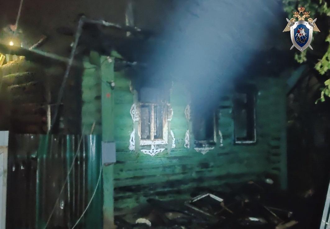 Пенсионерка погибла на пожаре в Балахнинском районе