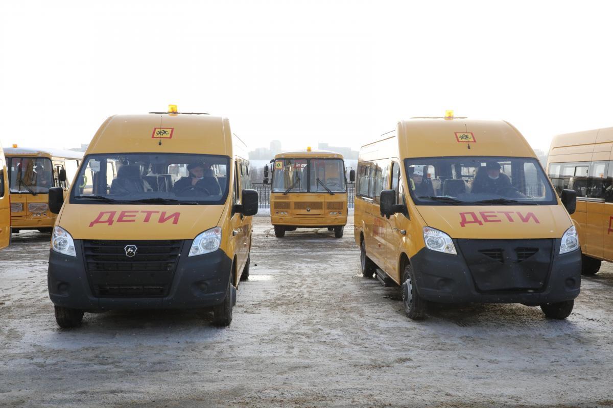 137 школьных автобусов и 30 машин скорой помощи получит Нижегородская область в этом году за счет средств федерального бюджета