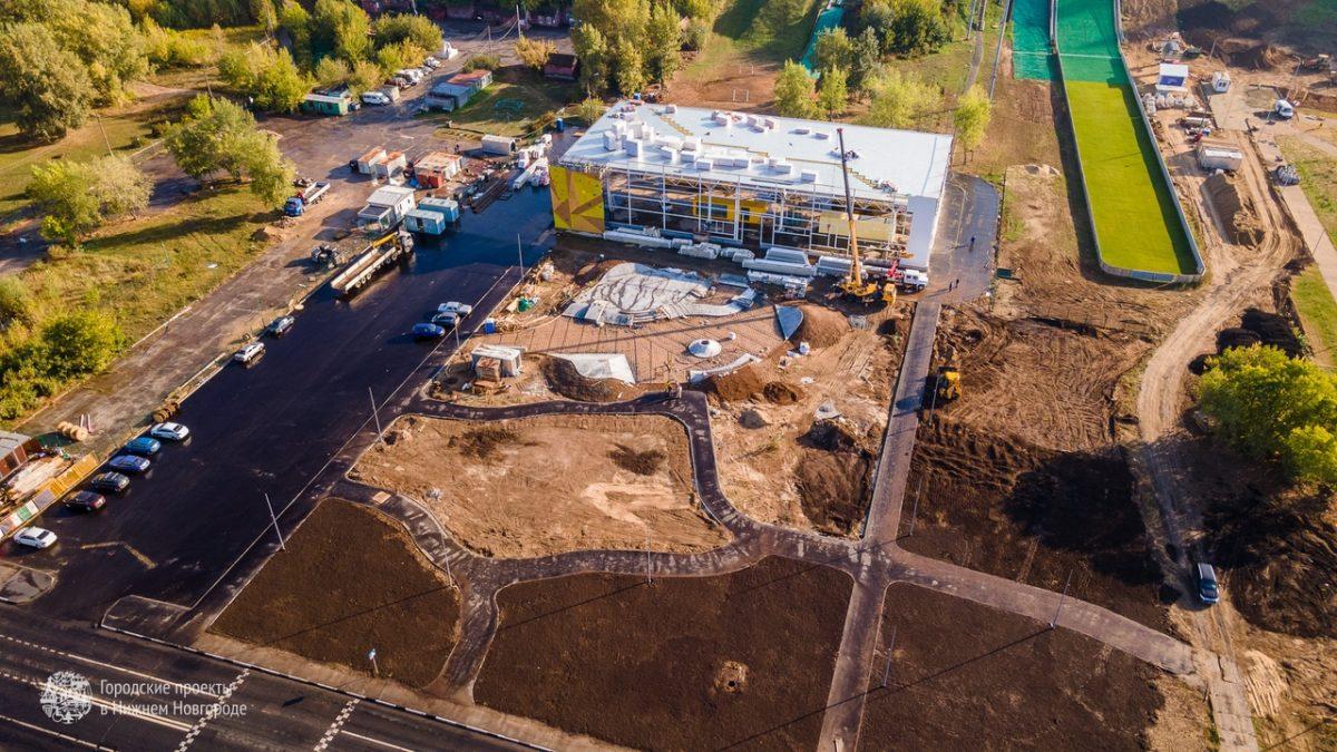 Скалодром и скейт-площадка появятся на Гребном канале в Нижнем Новгороде