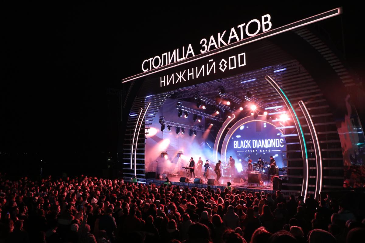 Концерт Ёлки и салют: смотрим, как прошел 13-й день «Столицы закатов»