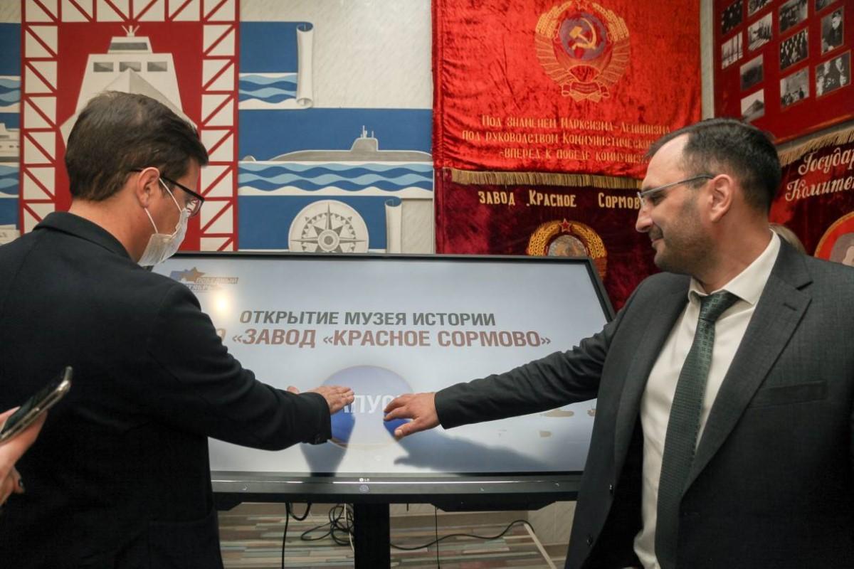 Музей судостроения открылся после реконструкции в Нижнем Новгороде