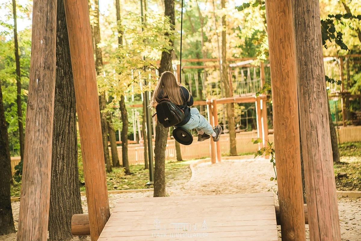Дополнительная тарзанка появится в нижегородском парке «Швейцария»