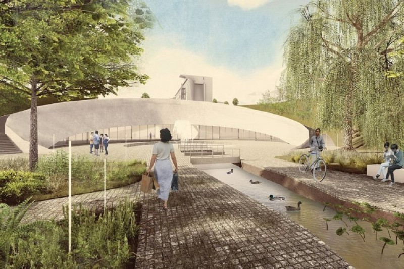 Террасный парк в Почаинском овраге в Нижнем Новгороде будет создан за счет средств инфраструктурного кредита