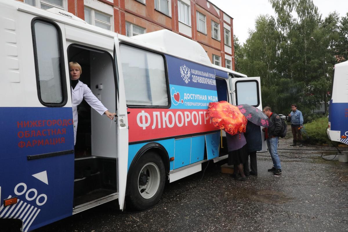 В339 населенных пунктах Нижегородской области уже побывали «Поезда здоровья»