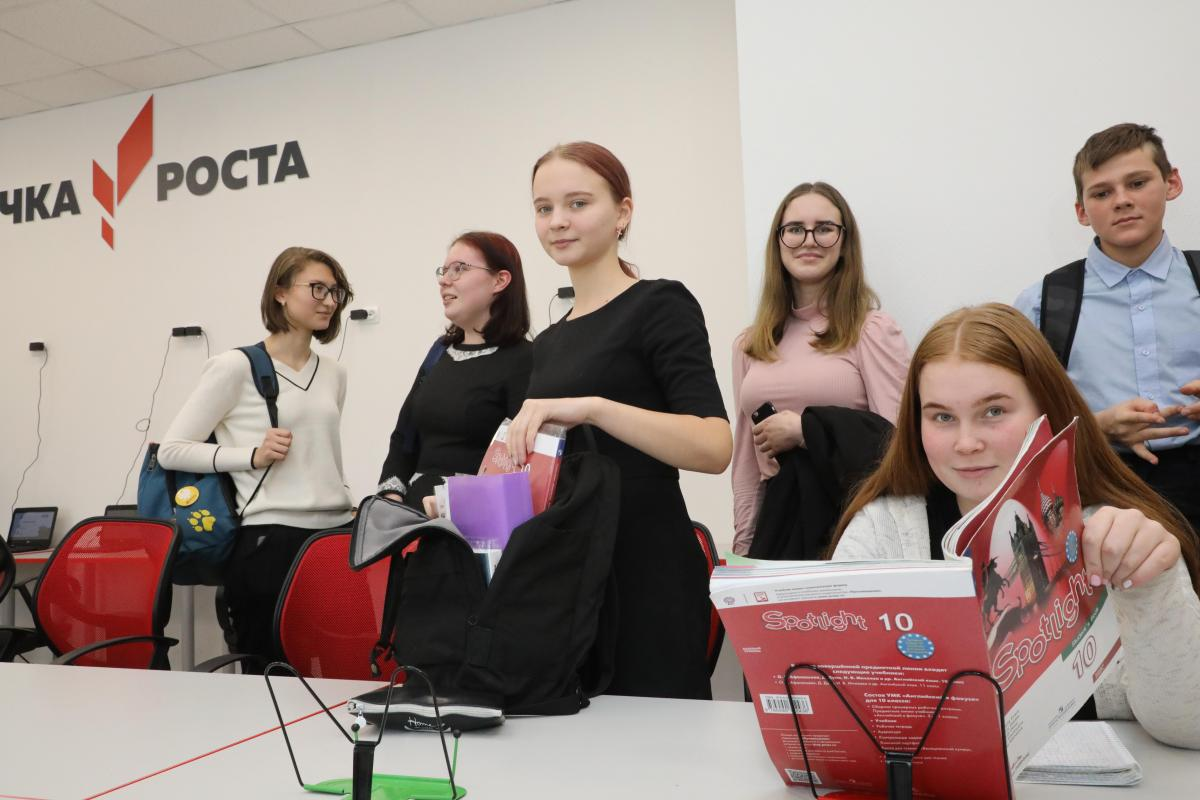 «Точка роста» открылась в Семеновской школе №2