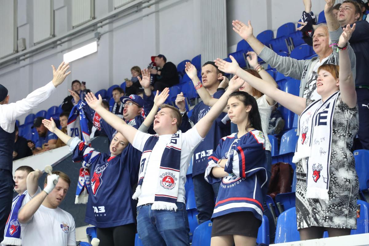 Глеб Никитин подписал решение координационного штаба обувеличении числа болельщиков наиграх нижегородских команд