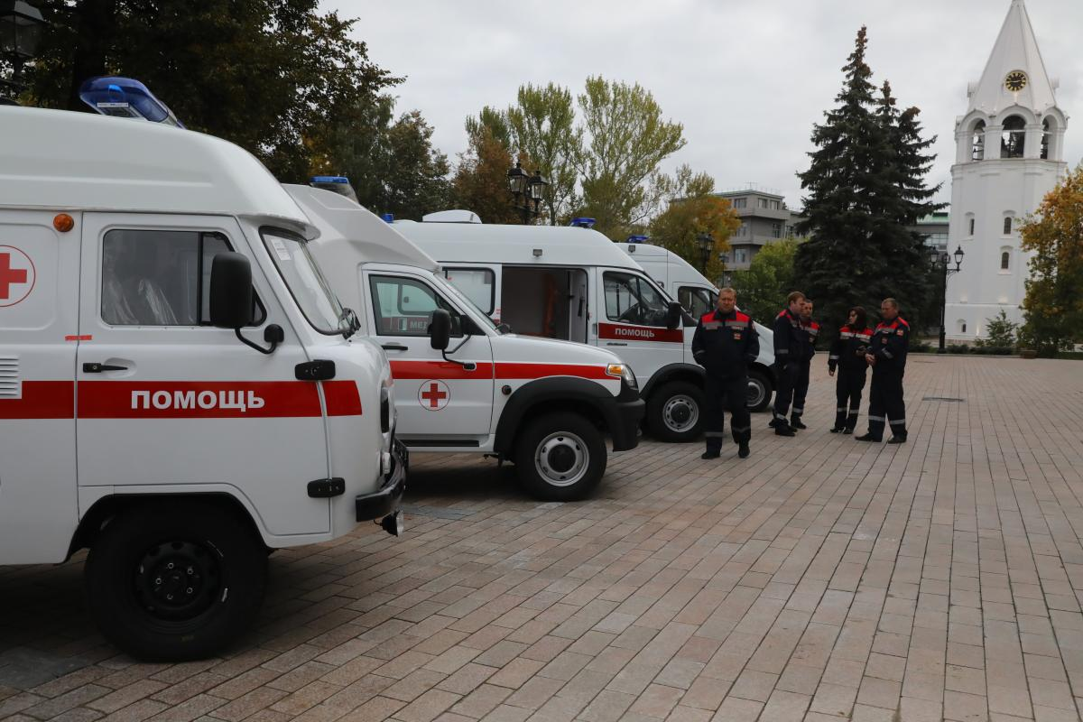 30 новых автомобилей скорой медицинской помощи получит Нижегородская область по поручению президента РФ до конца сентября