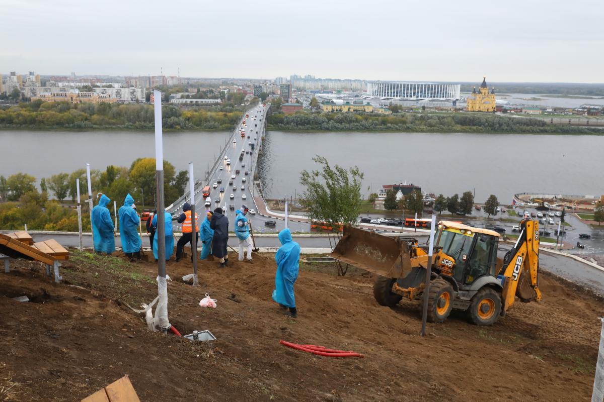 Подряд по осени считают: почему ещё не завершено благоустройство Нижнего Новгорода?