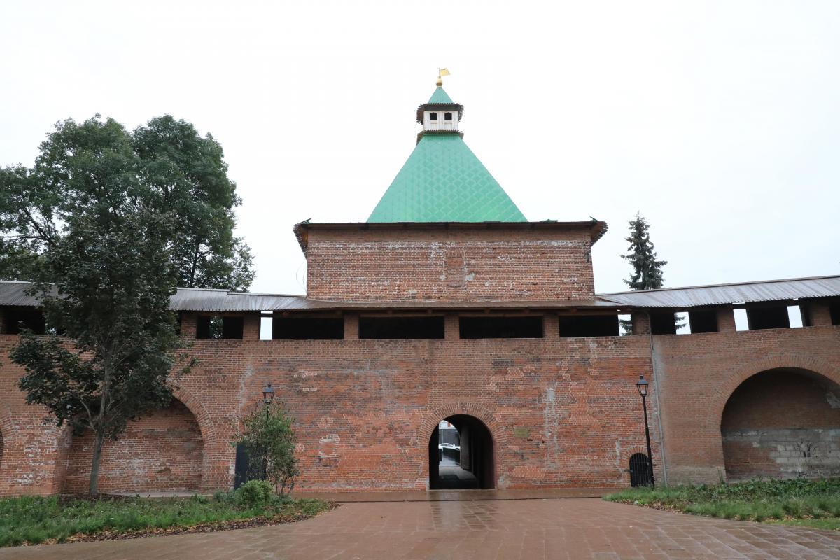 3 павильона общепита и сувенирная лавка заработают в Нижегородском кремле с 1 октября