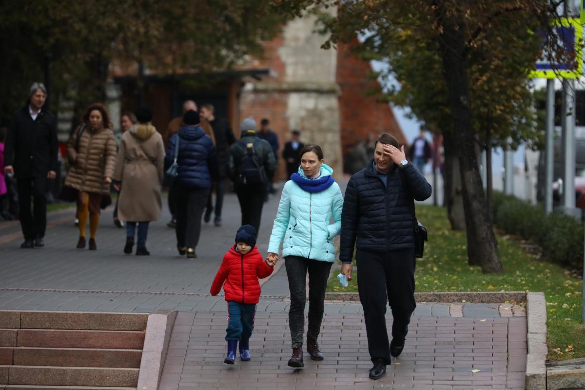 Пасмурная погода ждет нижегородцев на новой рабочей неделе