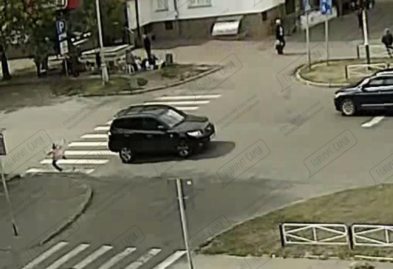 Водитель сбил 10-летнюю девочку на пешеходном переходе в Сарове