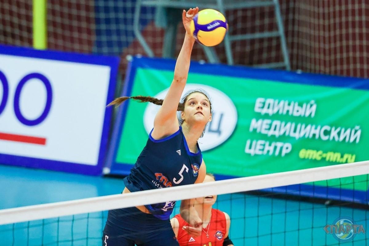 Нижегородская «Спарта» с победы стартовала в Кубке России по волейболу среди женщин