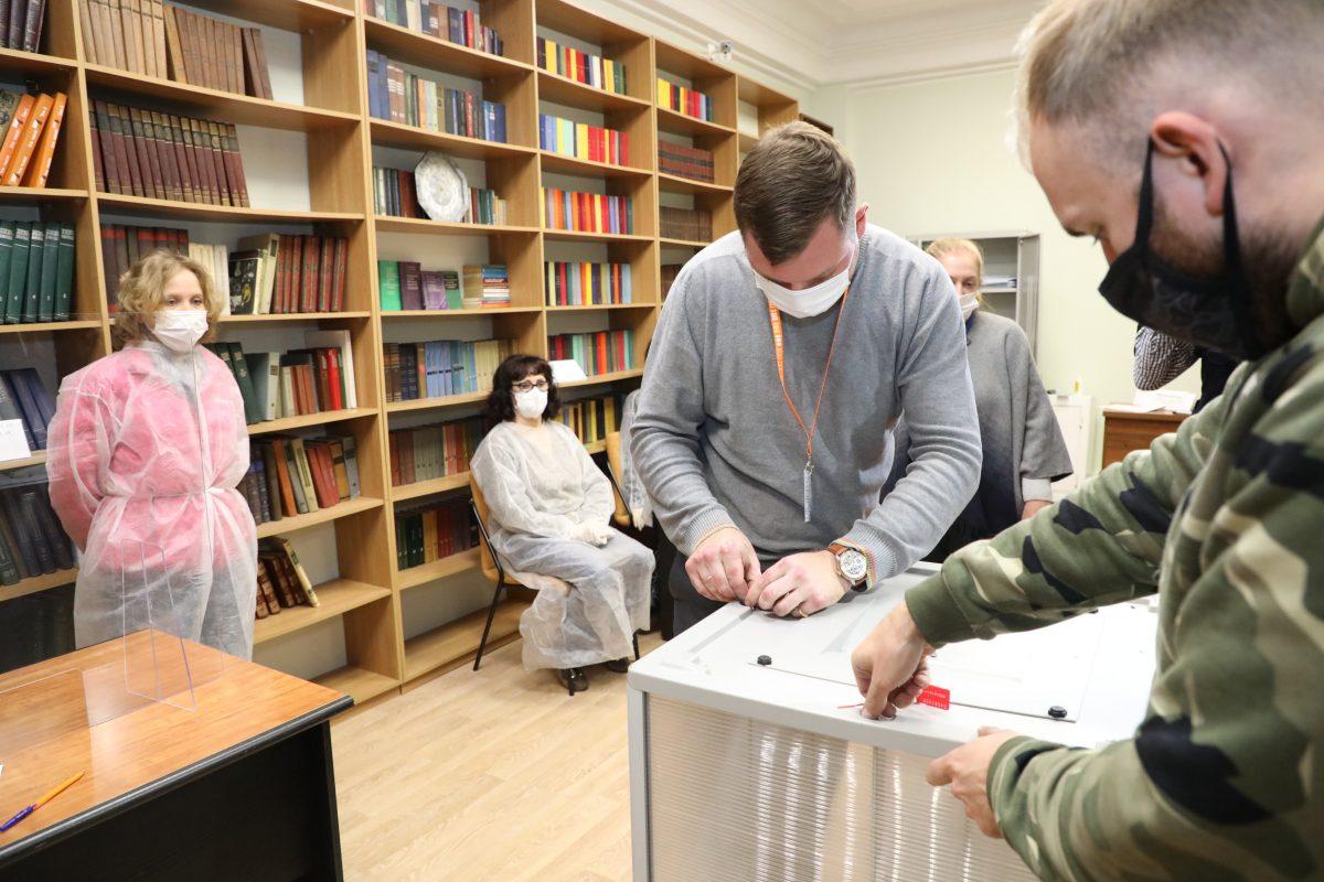 В Нижегородской области стартовал второй день голосования