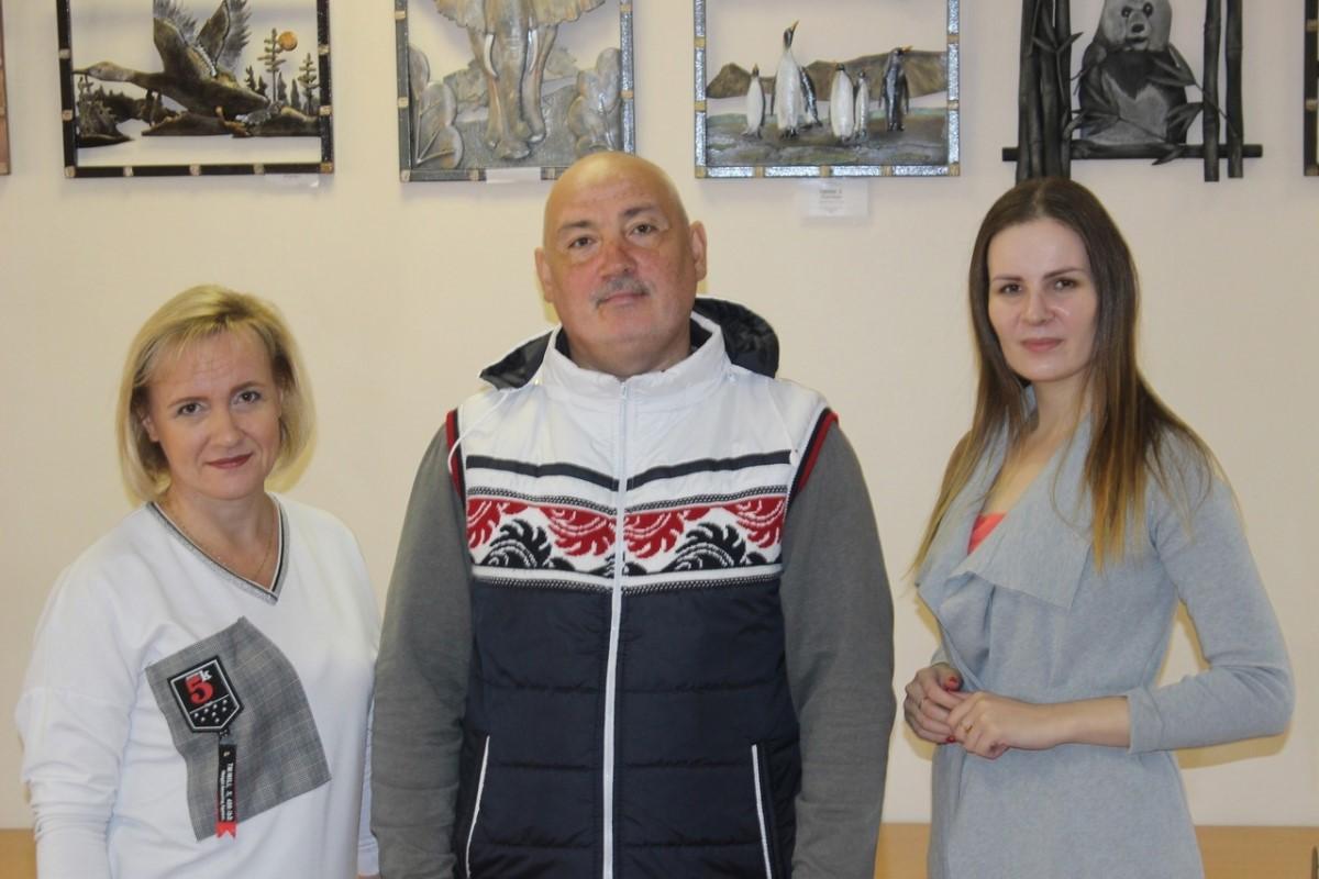 Выставка работ художника и мастера по металлу Дмитрия Сангалова открылась в Нижнем Новгороде