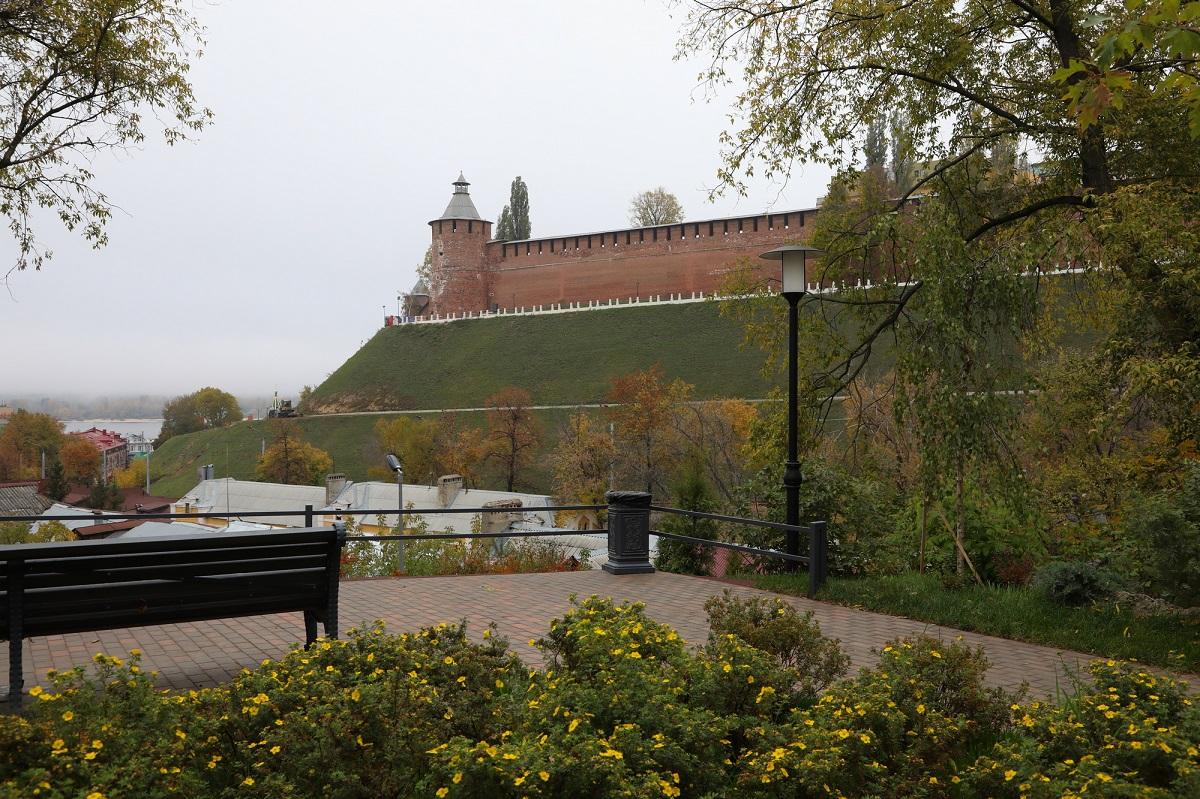 ВНижнем Новгороде завершилось благоустройство Почаинского бульвара