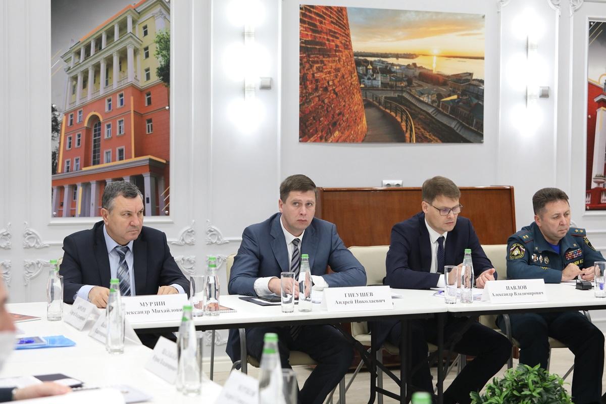 Андрей Гнеушев провел заседание антитеррористической комиссии Нижегородской области