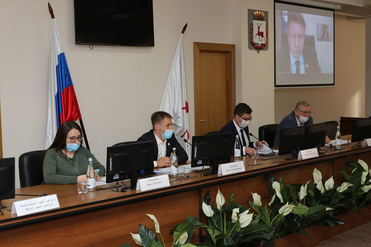 Артем Чагаев избран председателем Молодежной палаты при городской Думе Нижнего Новгорода