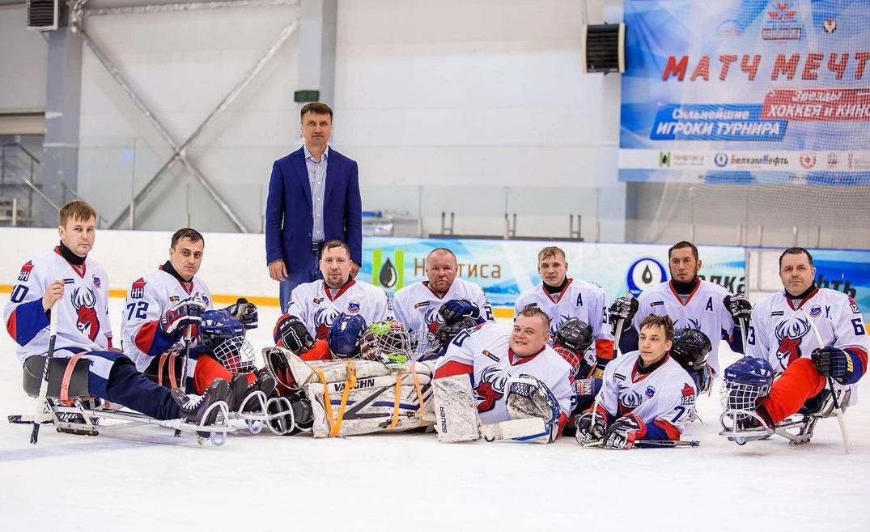 Дебют взрослой команды: «Торпедо-следж» участвует во всероссийском турнире