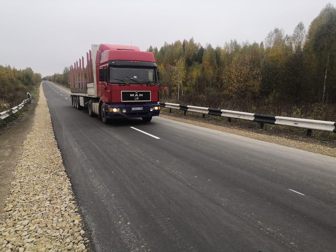Ремонт участка дороги Никитиха— Новоуспенское протяженностью 15км вВетлужском районе завершен
