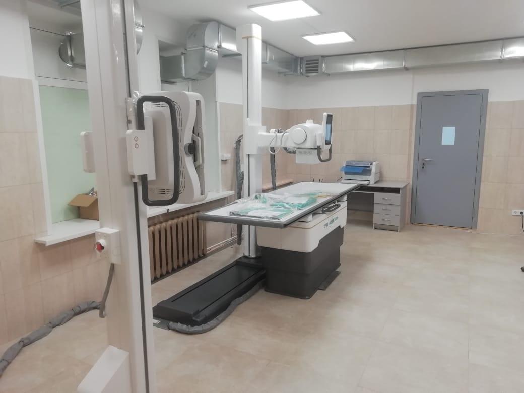 ВДивеевскую ЦРБ поступил новый цифровой рентген-аппарат