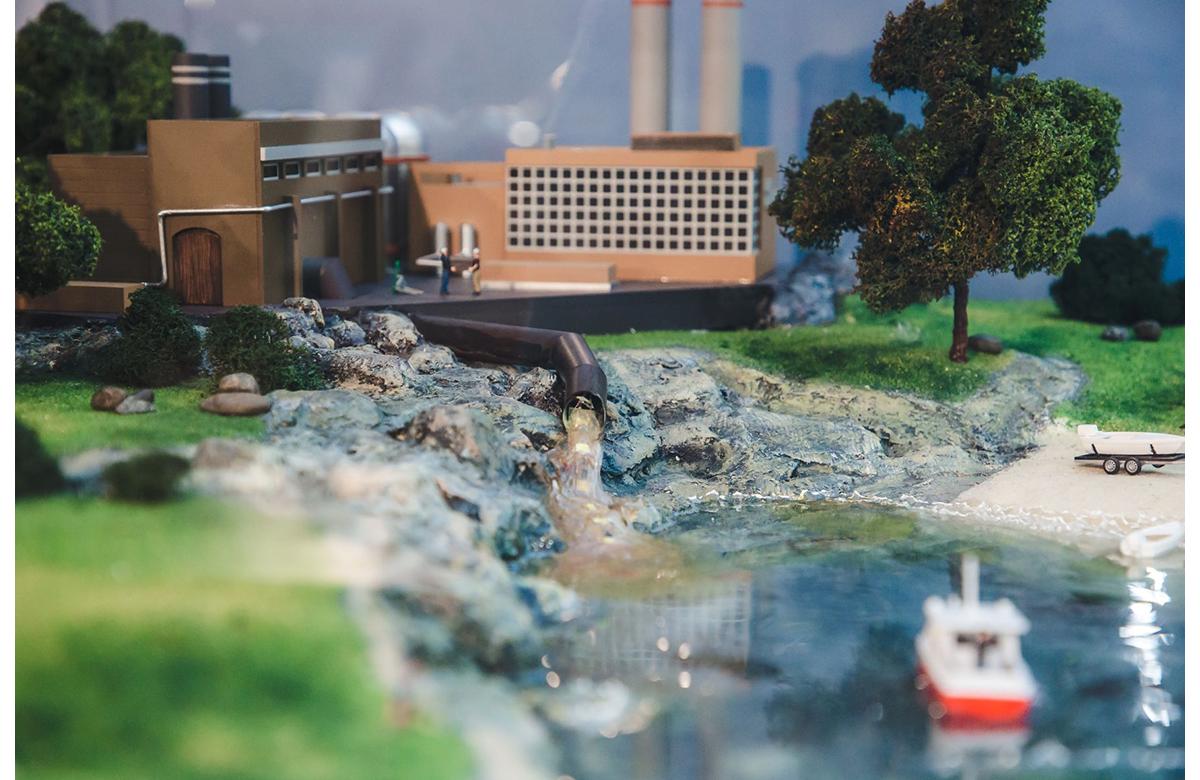 Экологический интерактивный макет создан в музее «Кварки» на средства гранта от En+ Group